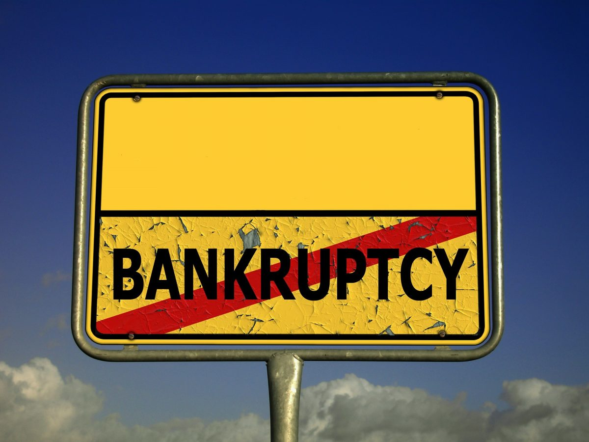 Bankruptcy by VBA Error